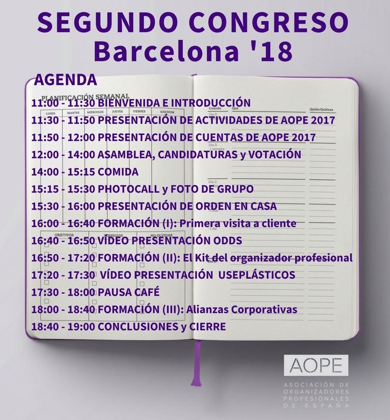 2º congreso de organizadores profesionales de españa